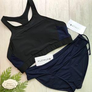 ATHLETA Bonaire Bikini Swim Suit Set NWT Large